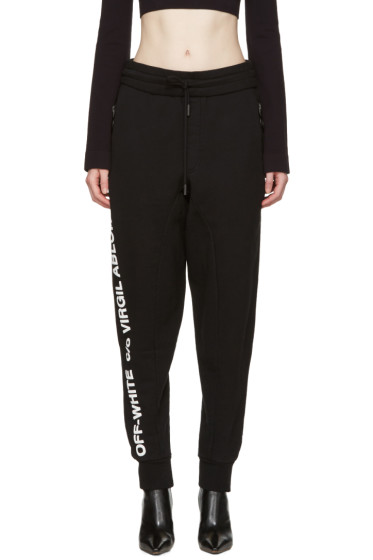 Off-White - Black 'C/O Virgil Abloh' Lounge Pants