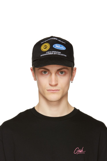 Off-White - Black Work Cap