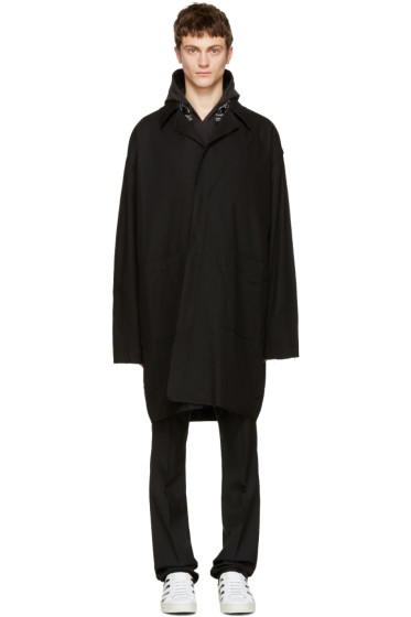 Off-White - Black 'C/O Virgil Abloh' Work Coat