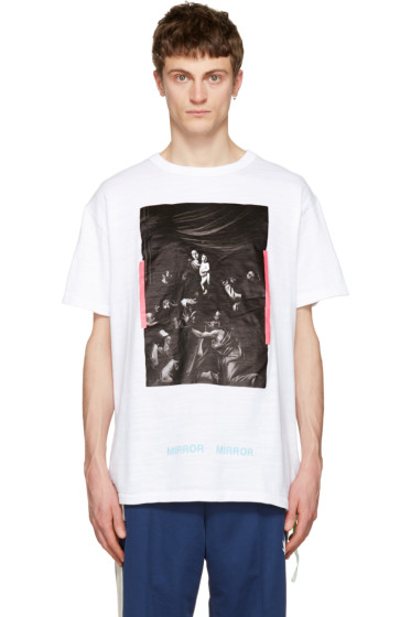 Off-White - White Caravaggio T-Shirt
