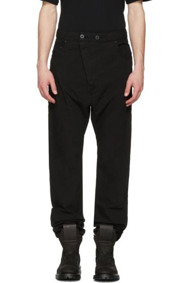 11 by Boris Bidjan Saberi - Black Dye Jeans
