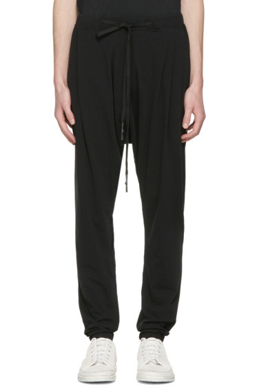 Nude:mm - Black Drawstring Lounge Pants