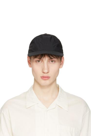 Undecorated Man - Black Panelled Cap