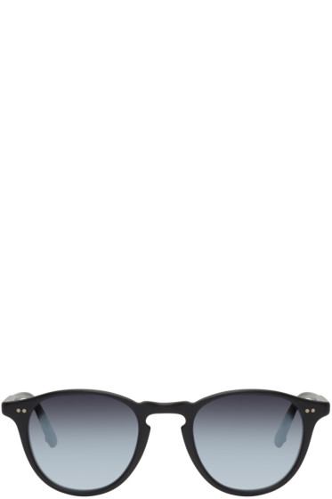 Garrett Leight - Black Hampton Sunglasses