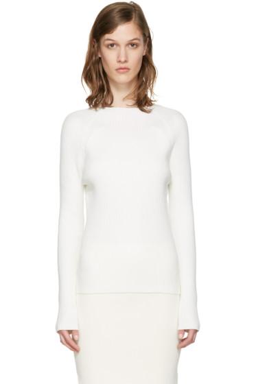 Won Hundred - White Vega Sweater