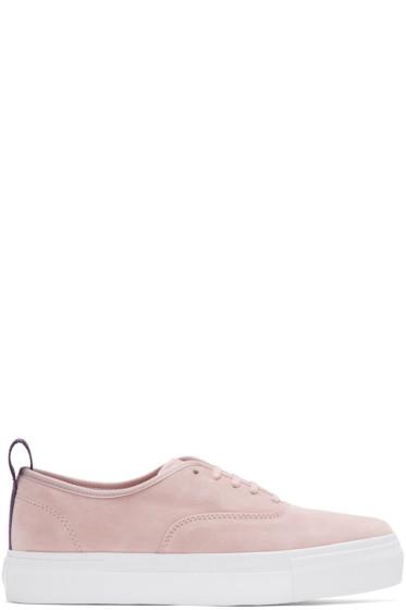 Eytys - Pink Suede Mother Sneakers