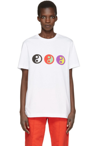 Gosha Rubchinskiy - White Yin Yang T-Shirt