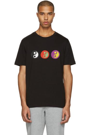 Gosha Rubchinskiy - Black Yin Yang T-Shirt