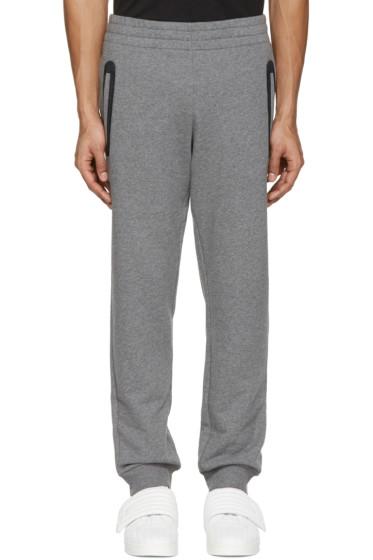 Versace Underwear - Grey Mesh-Trimmed Lounge Pants