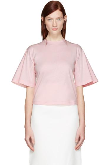 Edit - Pink Flute Sleeve T-Shirt