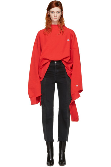 Vetements - Red Champion Edition In Progress Pullover