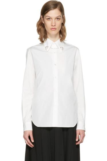 Noir Kei Ninomiya - White Pearl Shirt