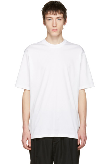 Song for the Mute - White 'Beau' Oversized T-Shirt