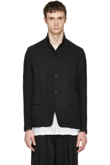 Attachment - Black Textured Blazer