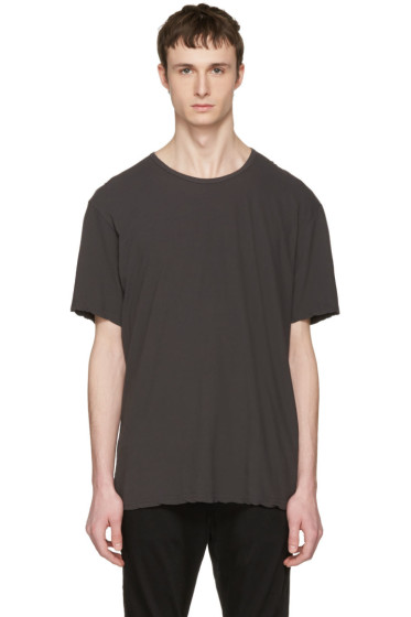 Attachment - Grey Slight Oversized T-Shirt