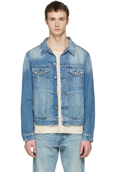 Simon Miller - Indigo Denim Sobo Jacket