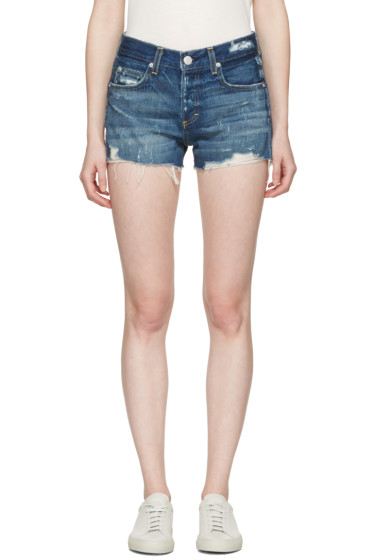 Amo - Indigo Denim Tomboy Shorts