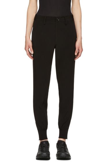 Y's - Black Slim Trousers