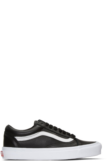 Vans - Black Old Skool LX Sneakers