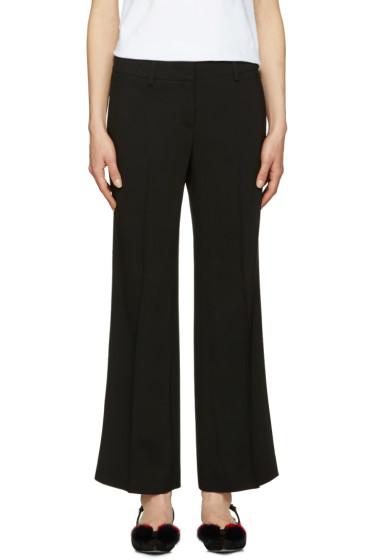Emilio Pucci - Black Wide-Leg Trousers