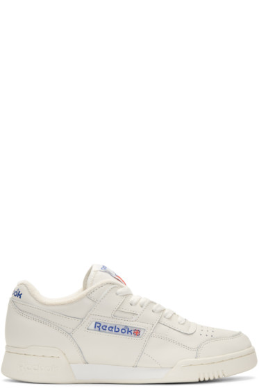 Reebok Classics - Ivory Vintage Workout Sneakers