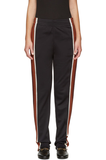 Wales Bonner - Black Palms Track Pants