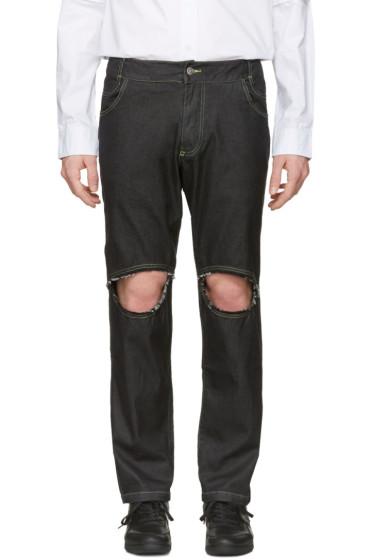Telfar - Black Simplex Jeans