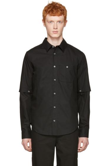 Telfar - Black Detachable Sleeve Shirt