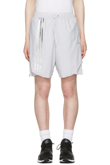 Adidas x Kolor - Grey Track Shorts