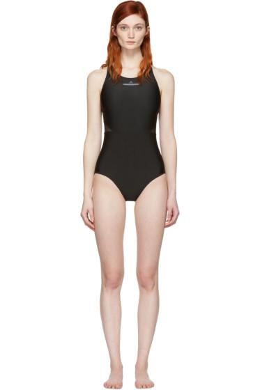 adidas by Stella McCartney - Black Zip Swimsuit