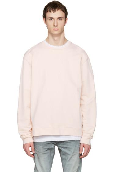 John Elliott - Pink Oversized Pullover
