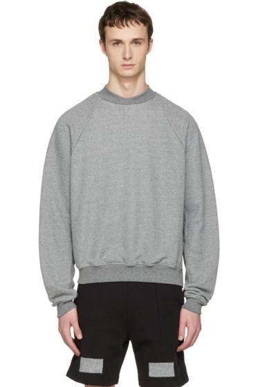 John Elliott - Grey Hellweek Pullover