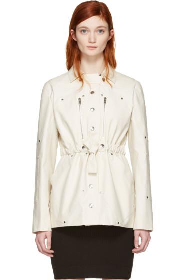 Courrèges - Ivory Belt Zip Jacket
