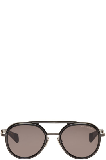 Dita - Black Spacecraft Aviator Sunglasses
