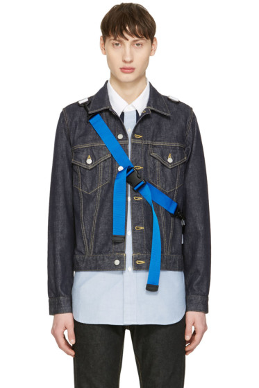 Ganryu - Indigo Denim Strap Jacket
