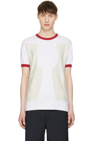 Ganryu - Red Pocket Ringer T-Shirt