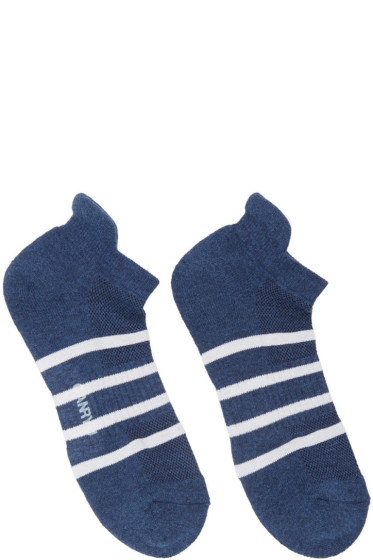 Ganryu - Indigo Striped Socks