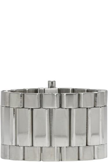 Ambush - Silver Classic Chain 5 Bracelet