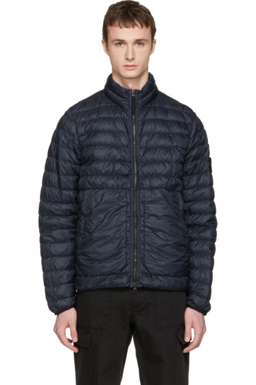 Stone Island - Navy Down Packable Jacket