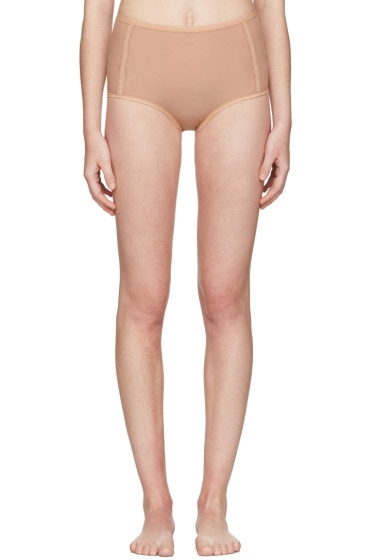 Land of Women - Tan High-Waisted Briefs