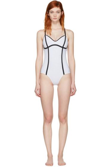 Ward Whillas - White Delrey Swimsuit