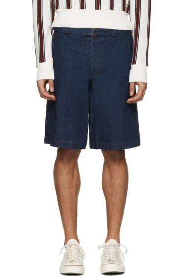 Missoni - Blue Denim Wide Shorts