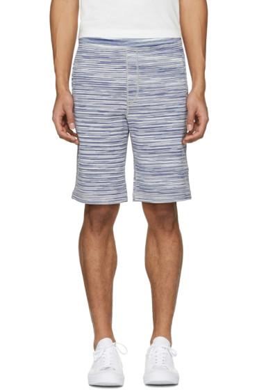 Missoni - Blue Striped Shorts