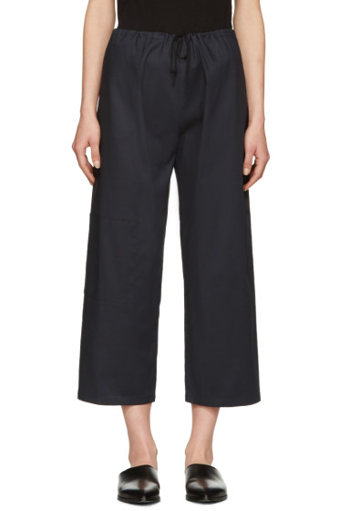 Moderne - Navy Oxford Gallery Trousers
