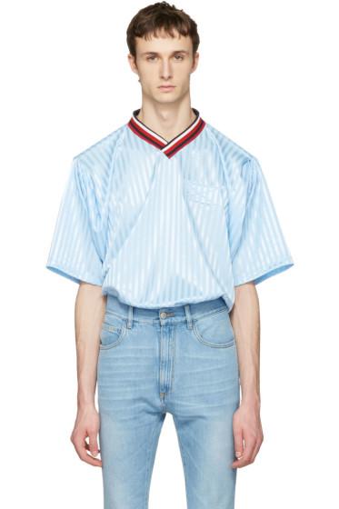 Martine Rose - Blue Football T-Shirt