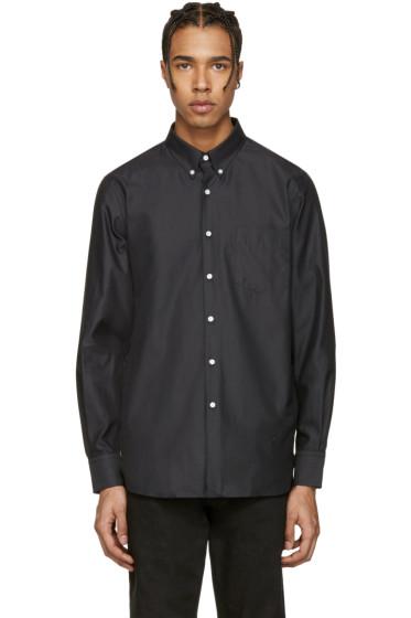 Childs - Black Fleet Button-Down Shirt