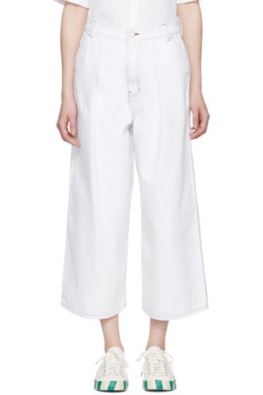 KUHO - White Denim One Jeans