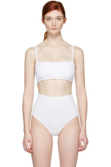 Marieyat - White G-Tang Bra