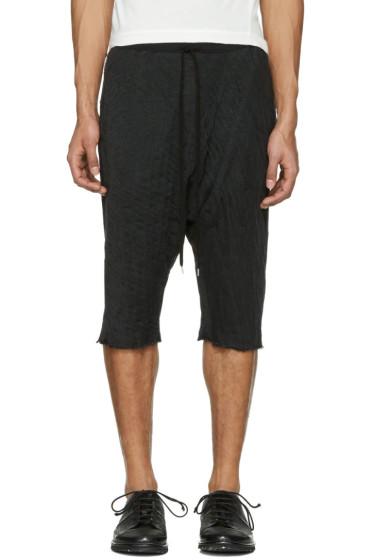 The Viridi-anne - Black Baggy Shorts