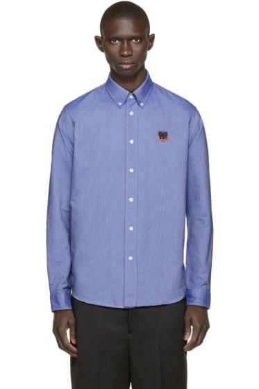 Kenzo - Blue Tiger Logo Shirt
